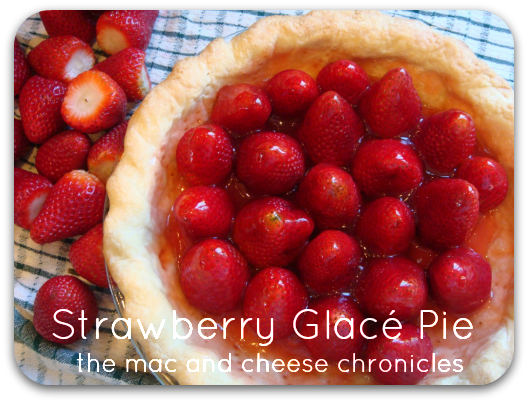 Strawberry Glace Pie