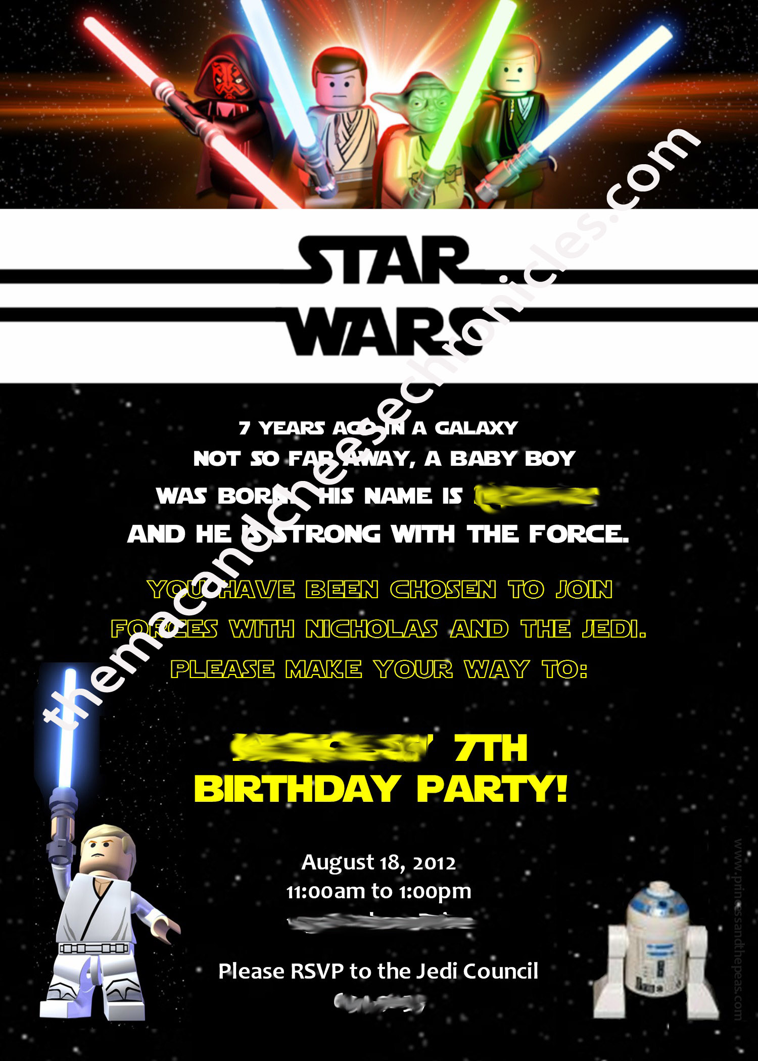 Lego Star Wars Birthday The Plan – Lego Star Wars Birthday Cards