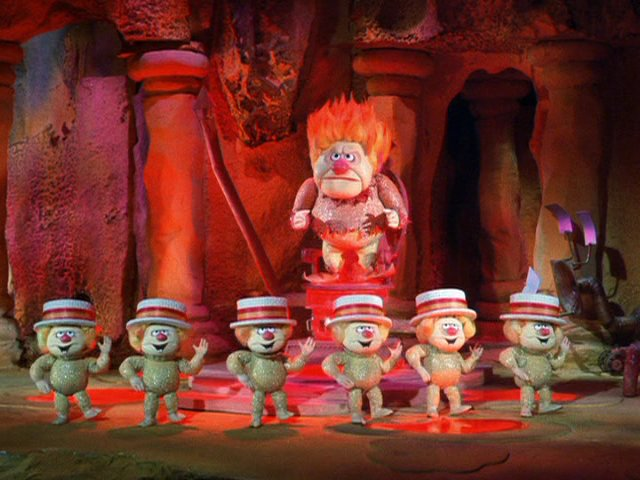 Heat Miser with Minions