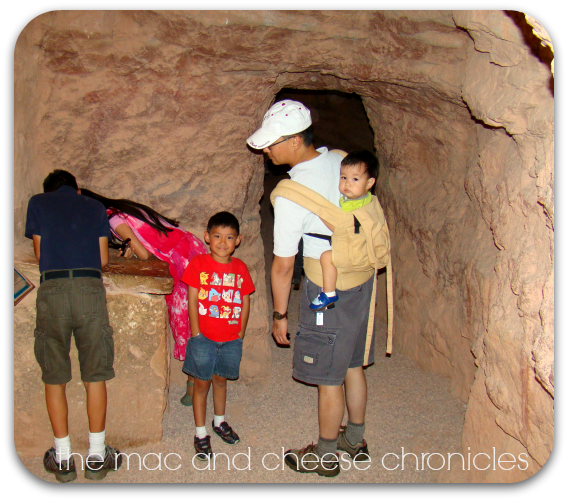 cliff dwellings inside