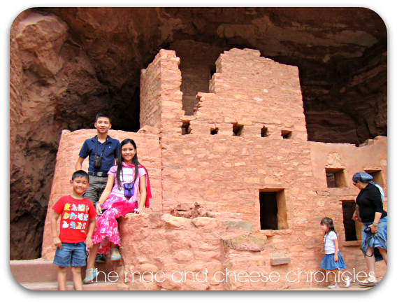 cliff dwellings outside