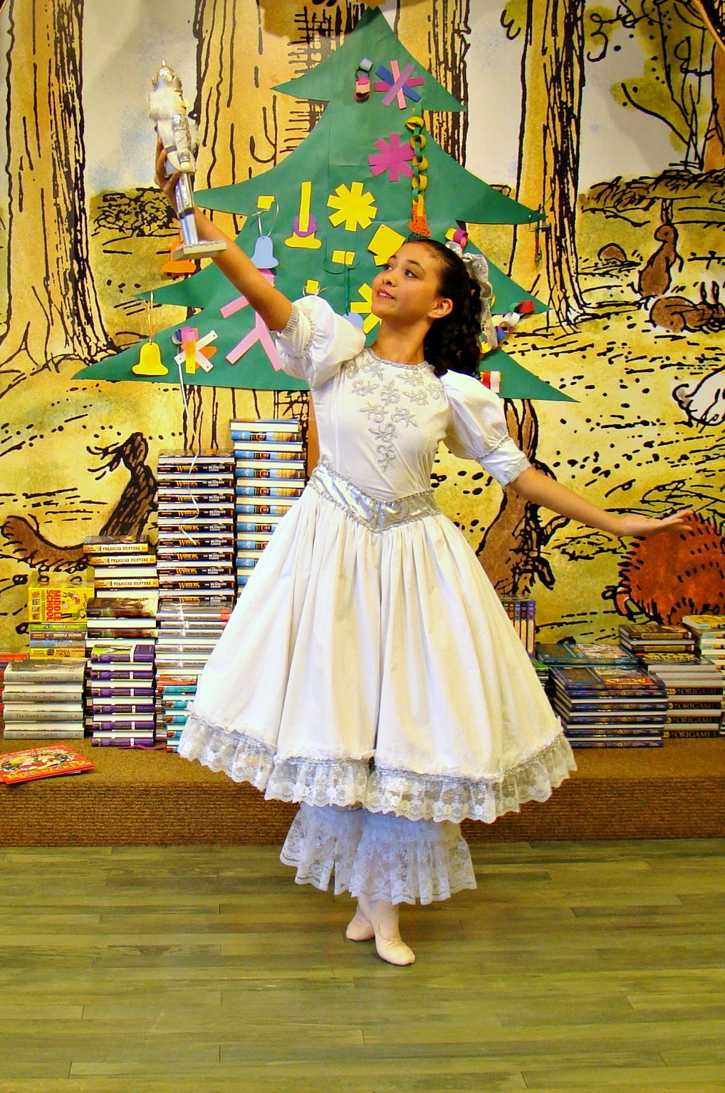 Family life the mac and cheese chronicles page 2 first the sugar plum fairy danced then pumpkin danced then she read the story of the nutcracker to the children she was wearing the clara costume from solutioingenieria Images