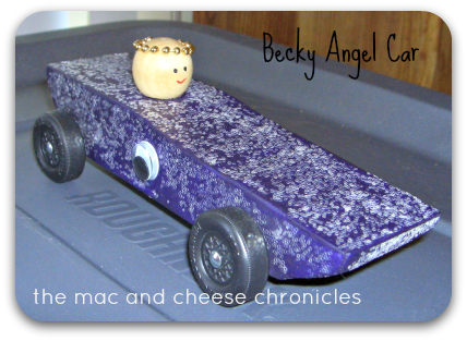 Becky Angel Car