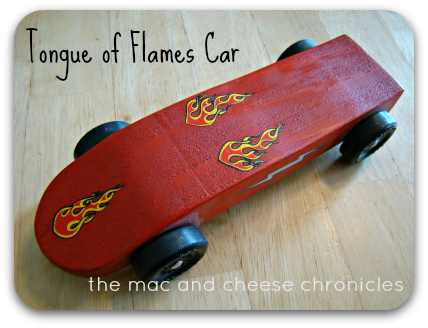 Tongue of Flames Car