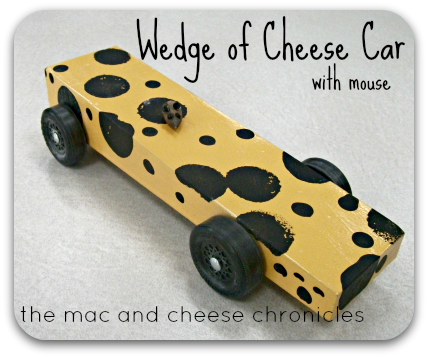 Wedge of Cheese Car