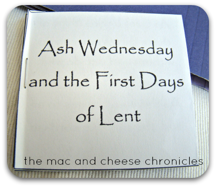 Lent Lap Book 2