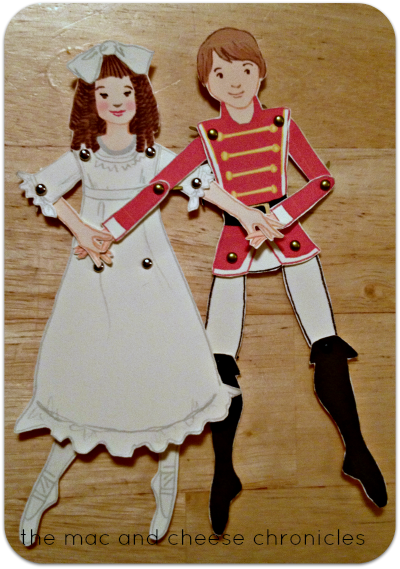 Nutcracker Paper Dolls