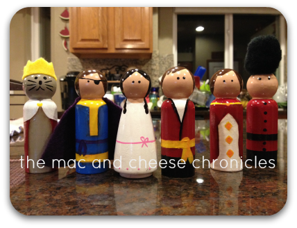 Nutcracker Peg Dolls